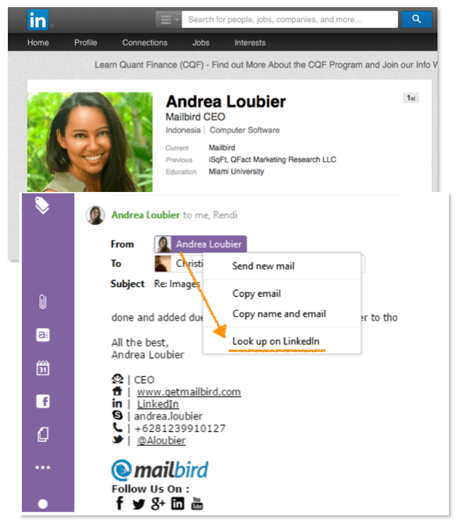 Mailbird 2.0 Sneak Peak (not yet publicly released)