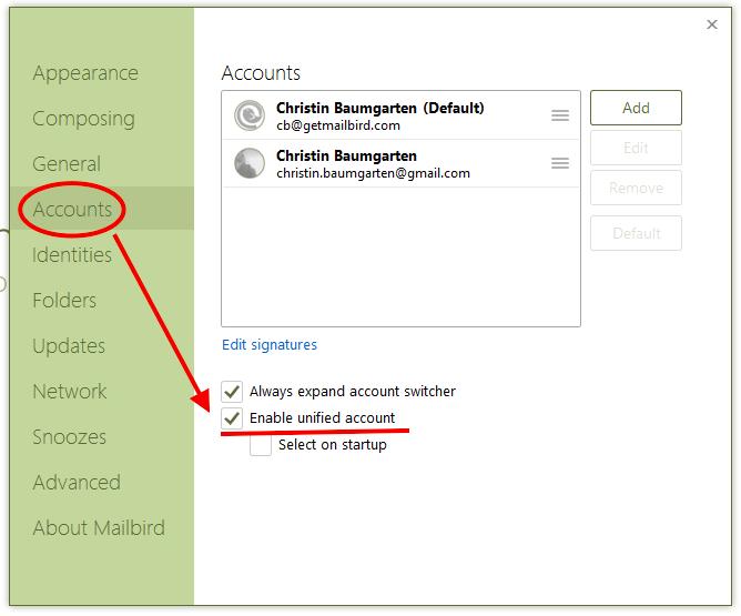 Enable Unified Inbox Plus