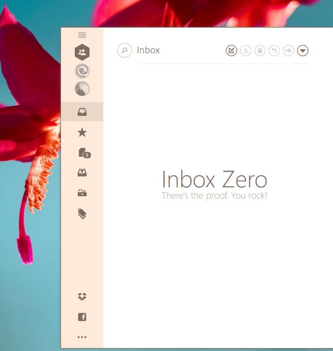 Beautiful Inbox Zero