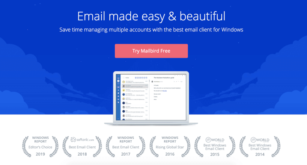 Best email efficiency and effectiveness tools. Mailbird