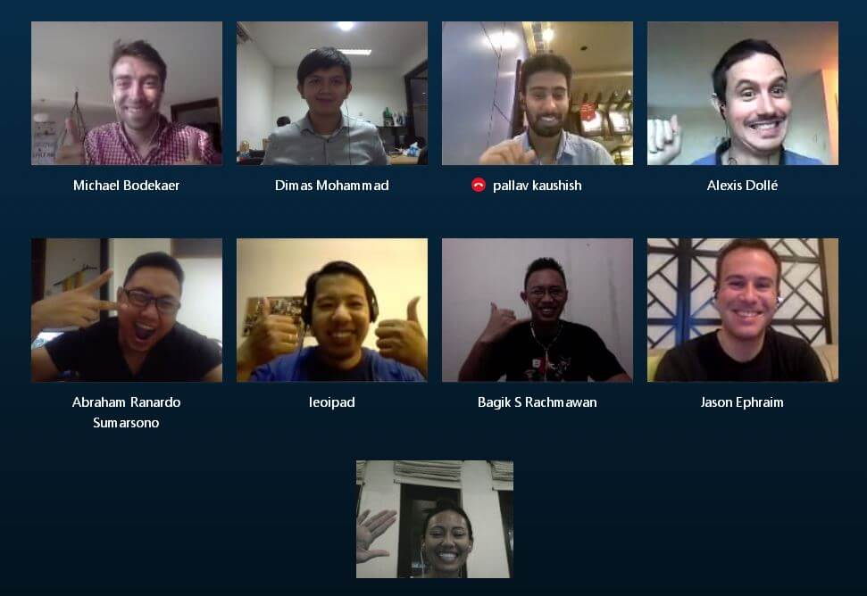 Mailbird Team Skype Meeting