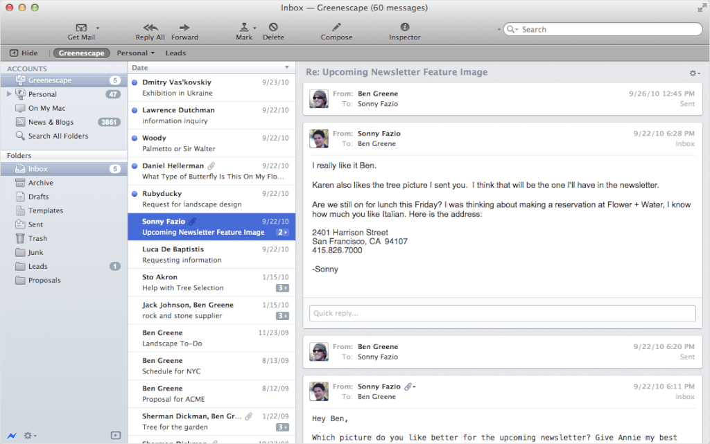 mac email client