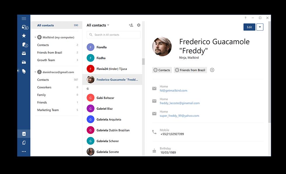 alternative à Windows Mail