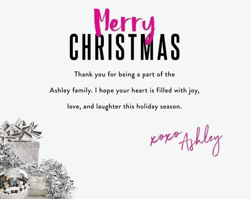 Christmas newsletter template: Greeting card
