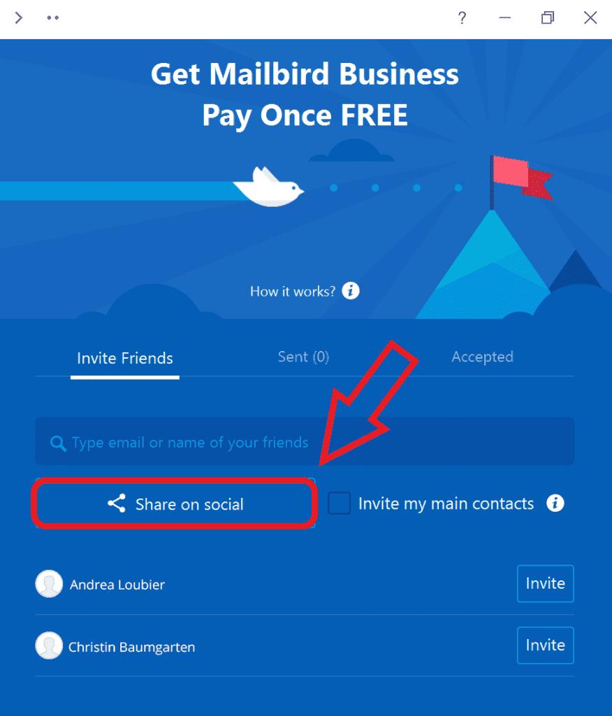 Mailbird free