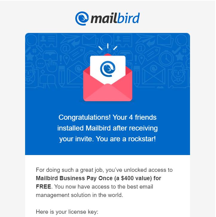 Mailbird Business free