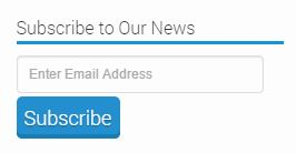 Subscribe to our News Blog