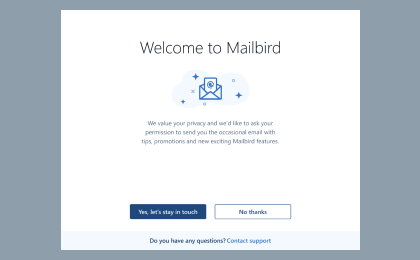 Step 1: To configure Zeelandnet.nl On Mailbird Desktop Client, Download and install Mailbird for free