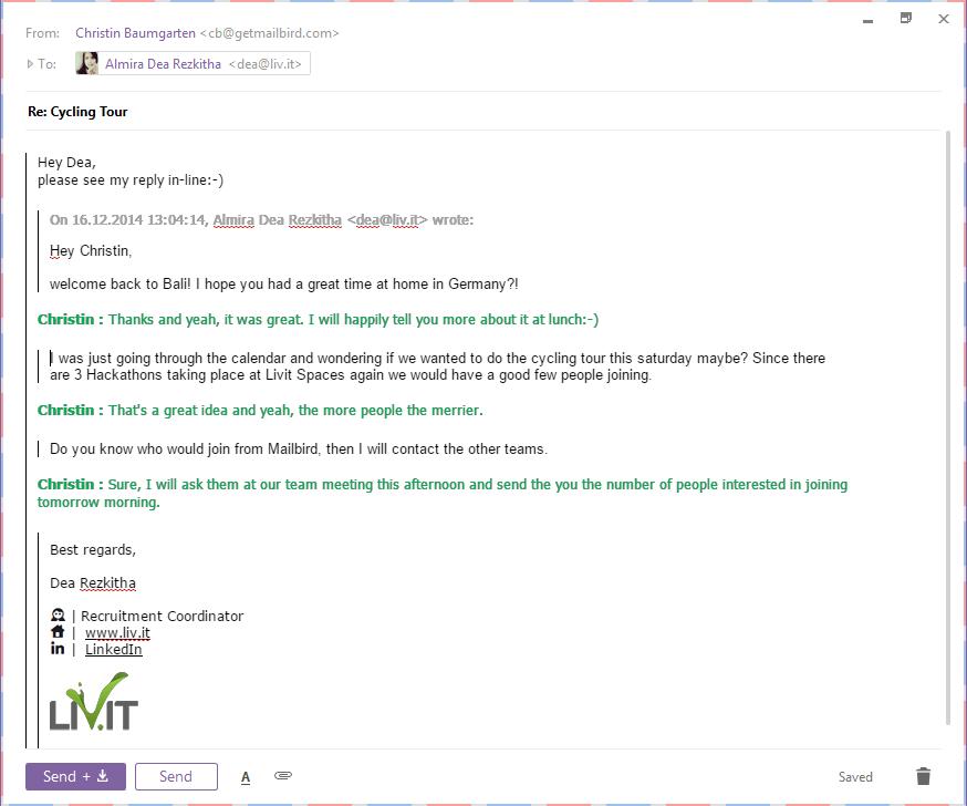 Mailbird 2.0 Sneak Peak (not yet publicly released)