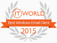 it-world-2015 email client award