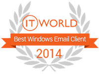 IT world 2014 email client award