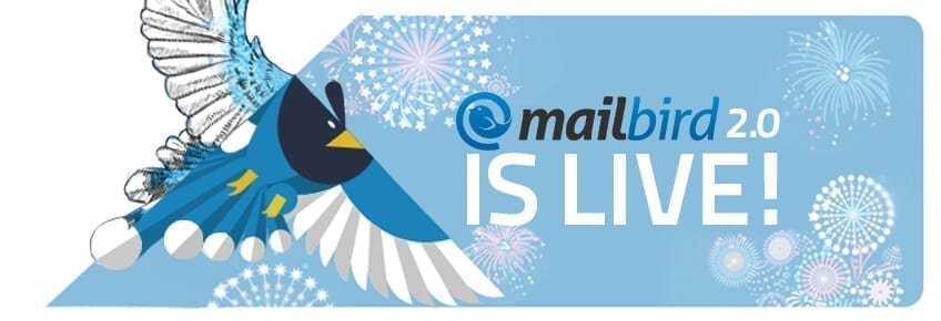 mailbird is LIVE new blogpost