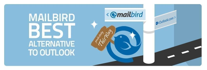 mailbird- the best alternative to Outlook