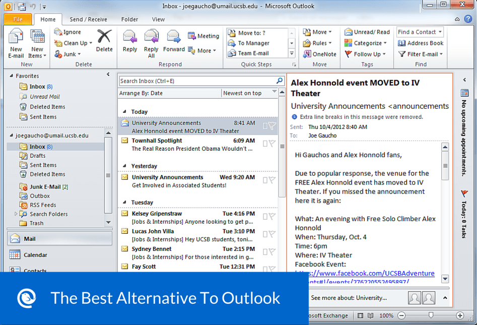 Inbox - Outlook