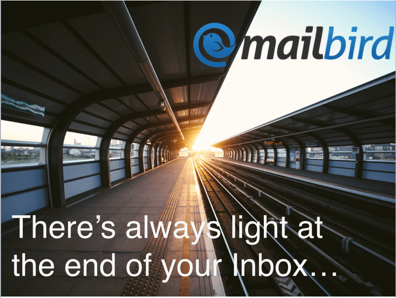 theres light at the end of your inbox