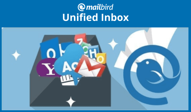 Mailbird's unified inbox for all your email accounts