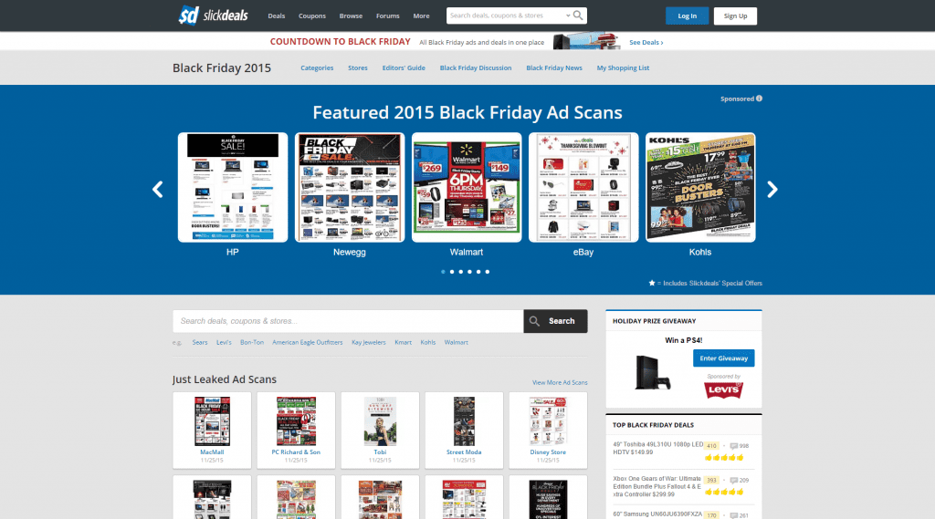 Black Friday Deals 2015   Sales  Ads   Coupons   Slickdeals