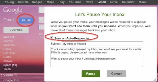 inboxpause