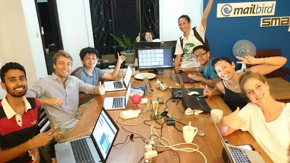 Mailbird Bali Hackathon in Action!
