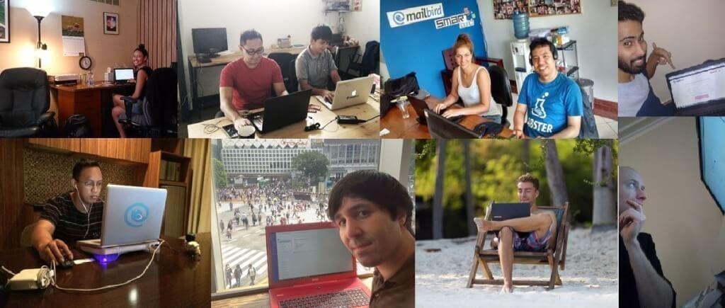 Mailbird Team Around the World :D