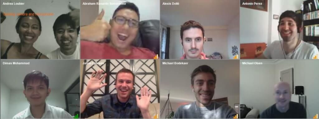 Mailbird Weekly Team Meetings Across the Globe