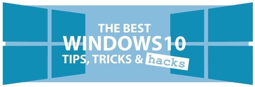 windows 10 tips tricks pdf