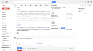 snooze gmail messages