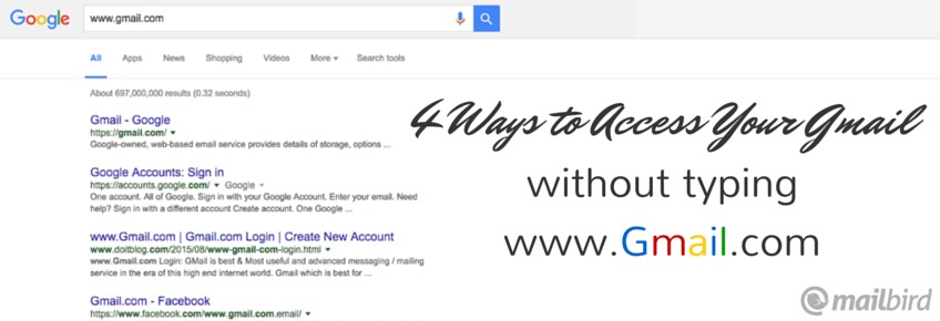 check gmail without www.gmail.com