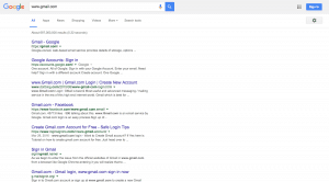www.gmail.com search result