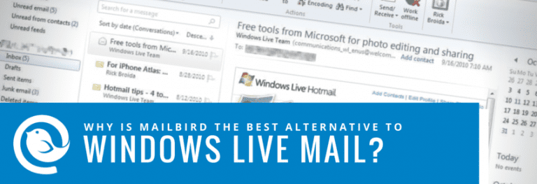 Windows Live Mail Alternative