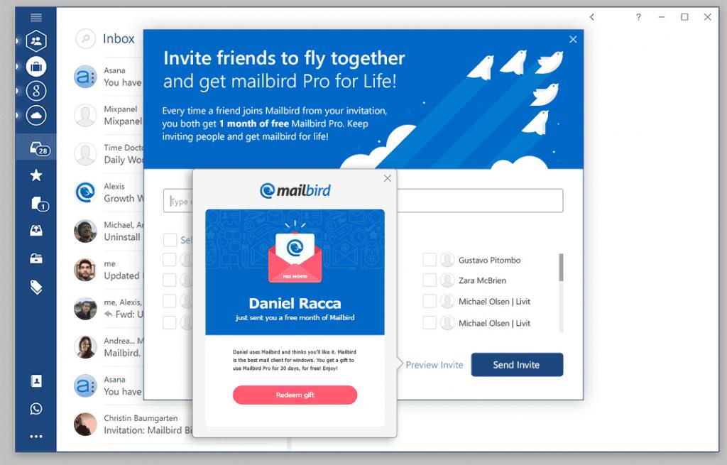 Gmail Inbox Invites as luxury invitations sample
