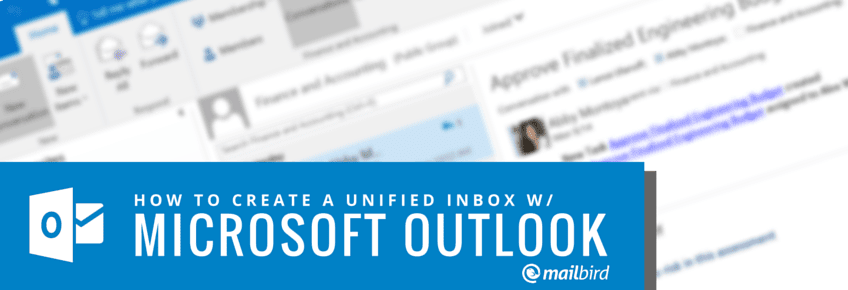 Unified Inbox for Outlook