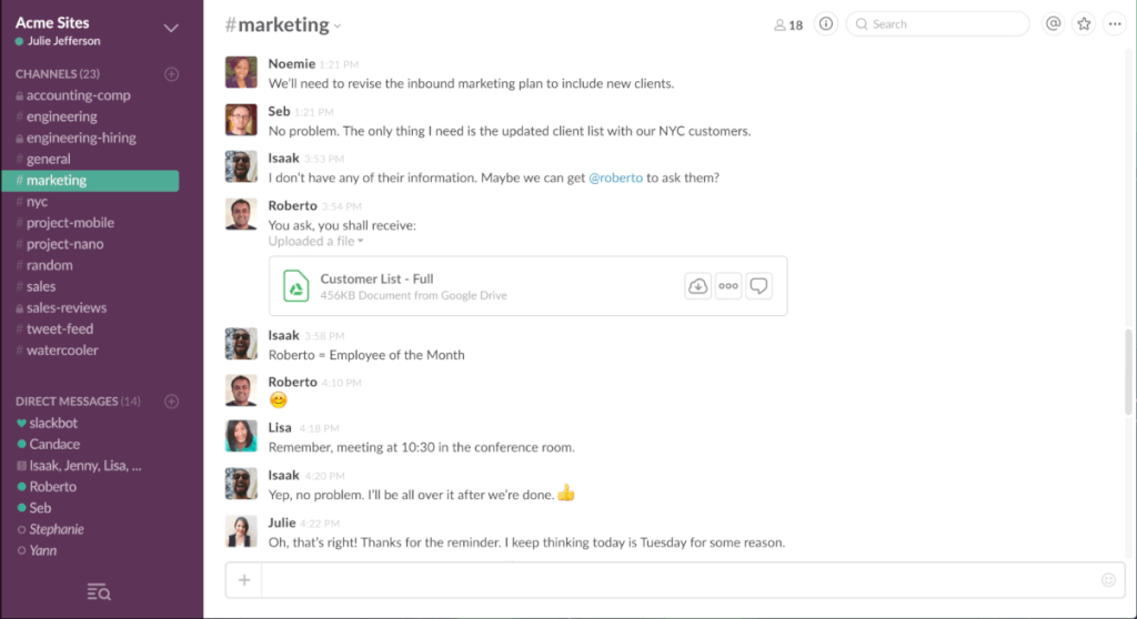 How to Best Combine Email with Messaging Apps like Slack