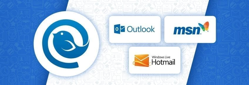 Current issues with Microsoft Outlook, Msn, Livemail, Hotmail and how to fix them