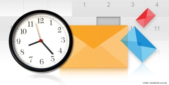 Best time to send email blast