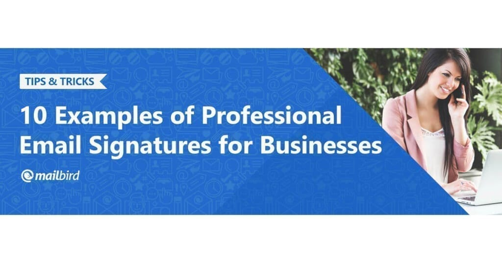 10 examples of professional email signatures for businesses 2018 10 examples of professional email signatures for businesses 2018 mailbird wajeb Image collections