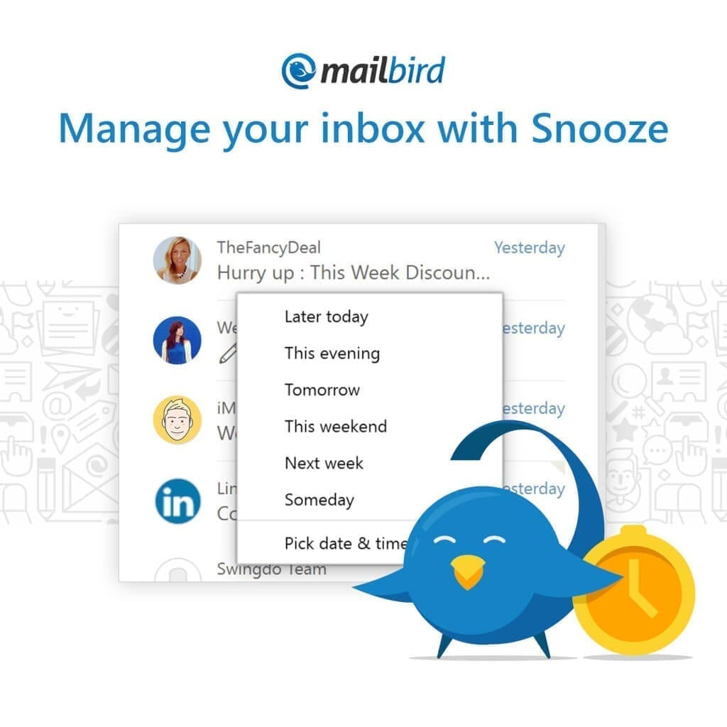 Snooze Your Way To Inbox Zero