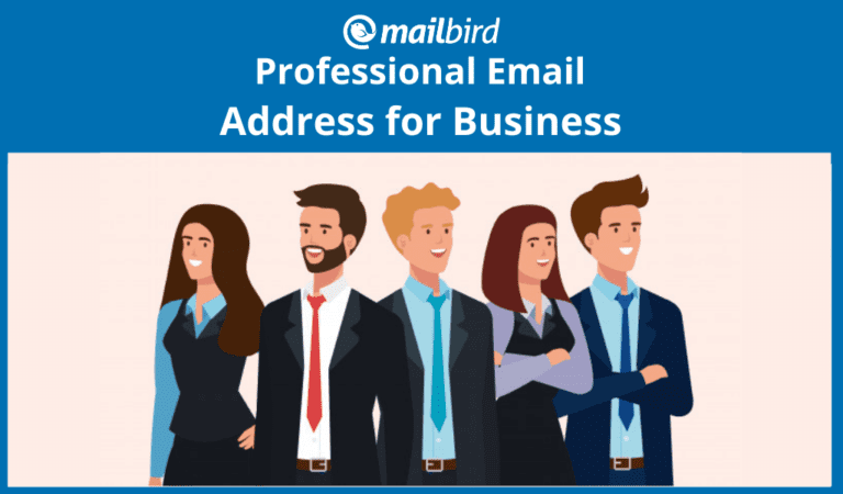 Why having a professional email address matter in business
