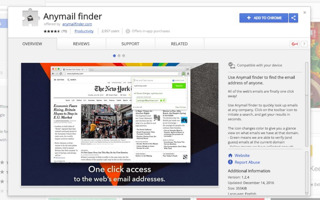Anymail Finder