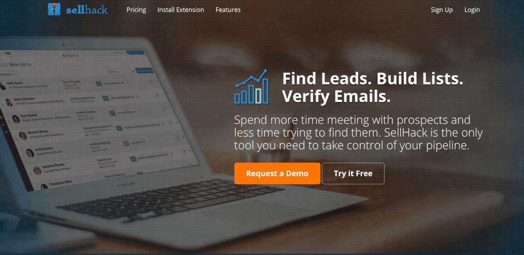 sellhack email finder