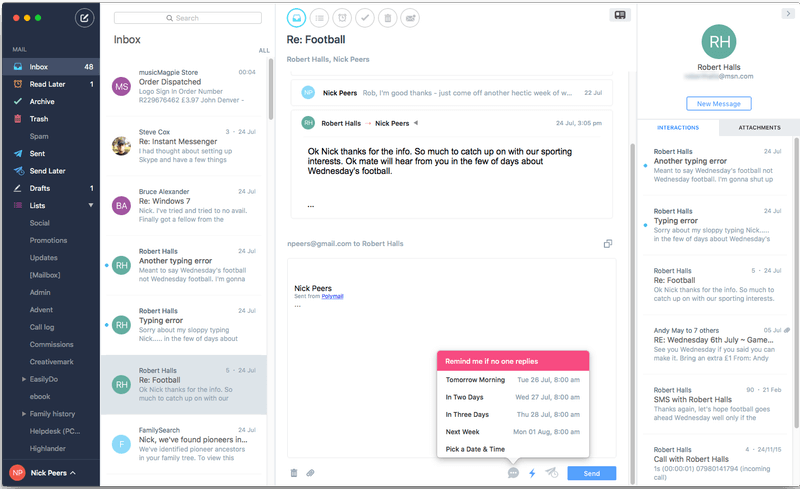 Best Email Client 2019 - Windows, Mac, Linux (12 Tools) - Mailbird