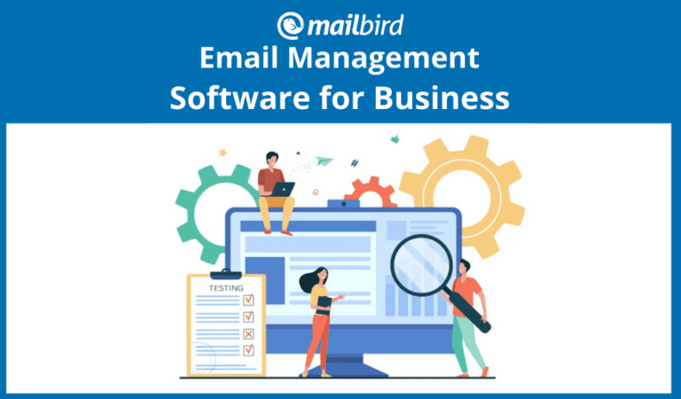 Email management software for business