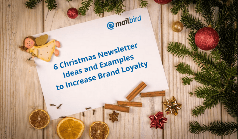6 Christmas Newsletter Ideas and Examples to Increase Brand Loyalty