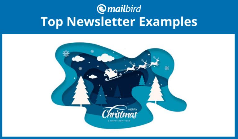 Best Christmas newsletter examples