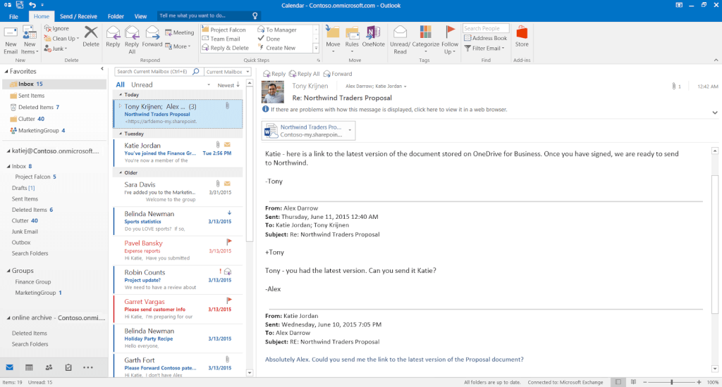 Outlook Macmail alternative