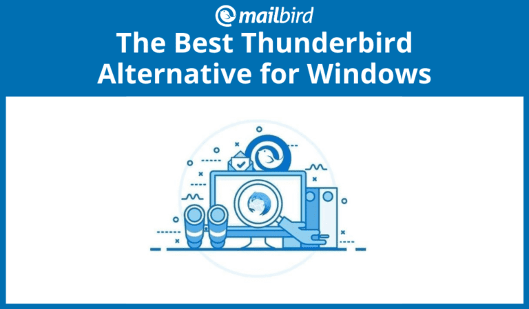 Thunderbird alternative for Windows