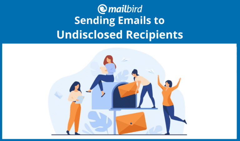 How to send to undisclosed recipients