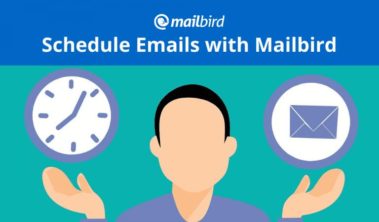 Schedule emails with Mailbird