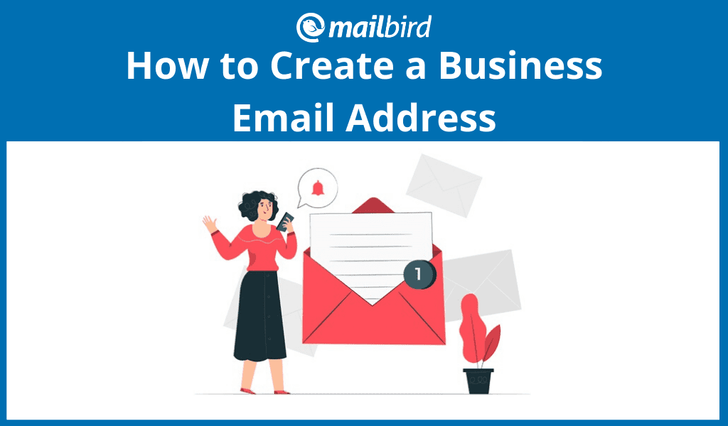 How to create a business email address