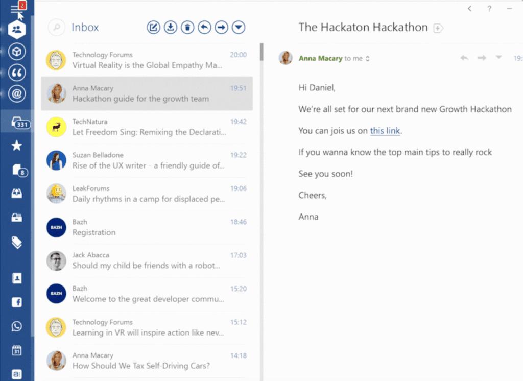 eM client alternative - Mailbird